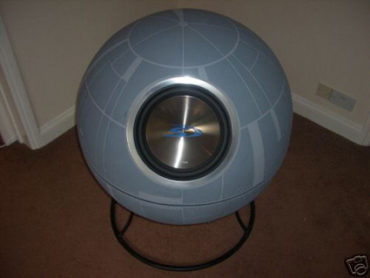The Death Star Subwoofer – For Imperial Eyes Only